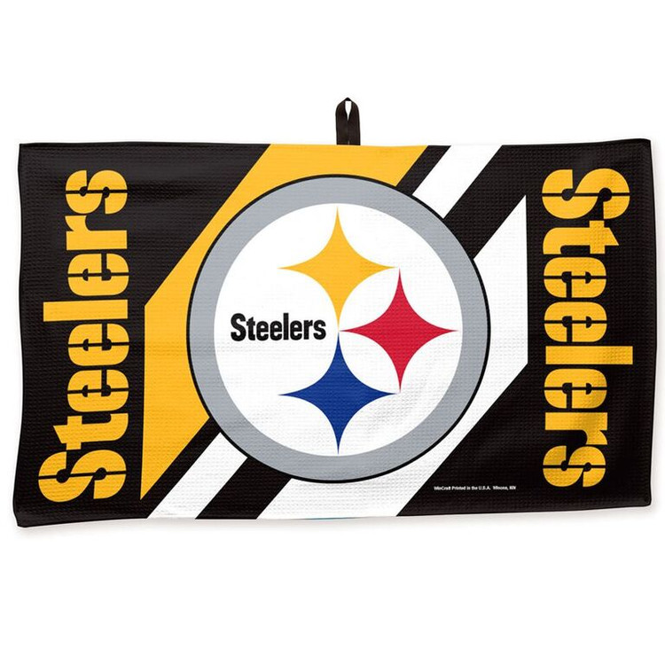Master NFL Bowling Towel Pittsburg Steelers