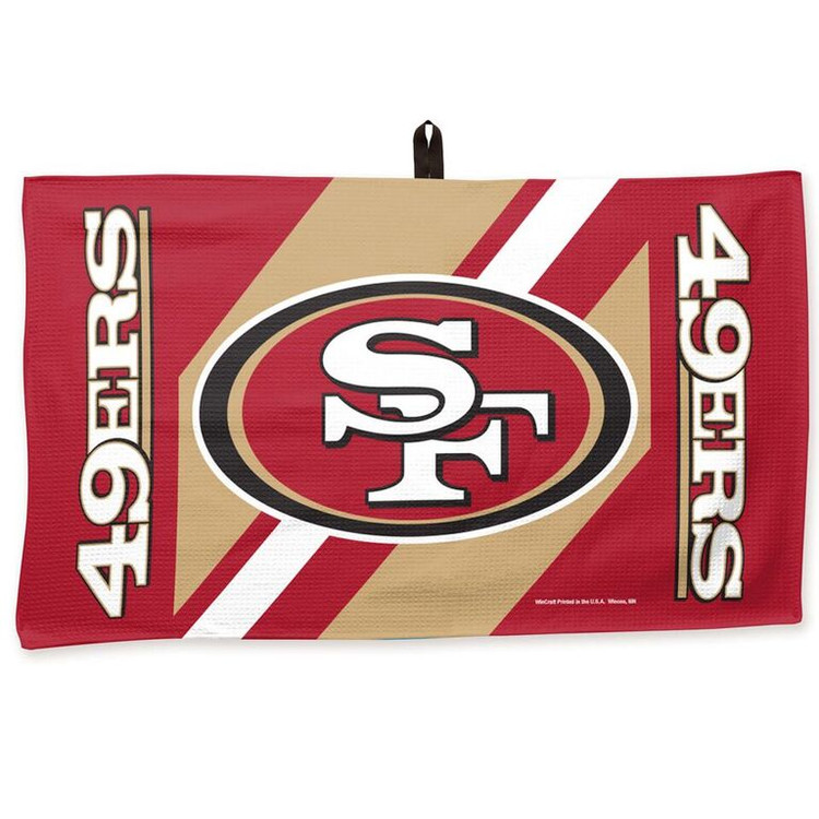 Master NFL Bowling Towel San Francisco 49ers