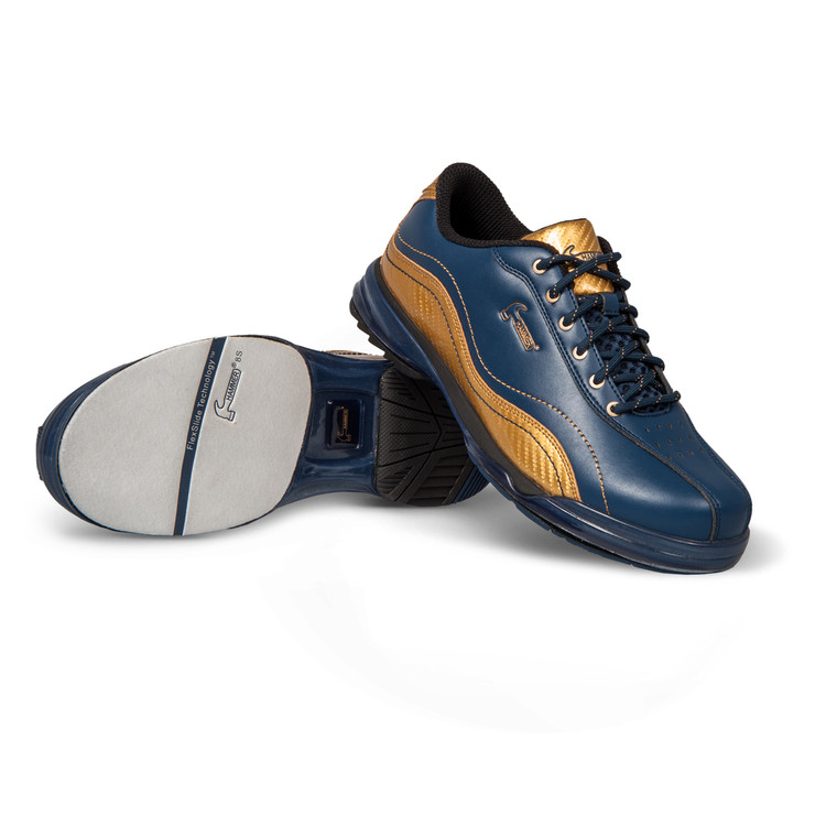 c745846702b Hammer Force Mens Performance Bowling Shoes LE Admiral- Navy Gold Right Hand