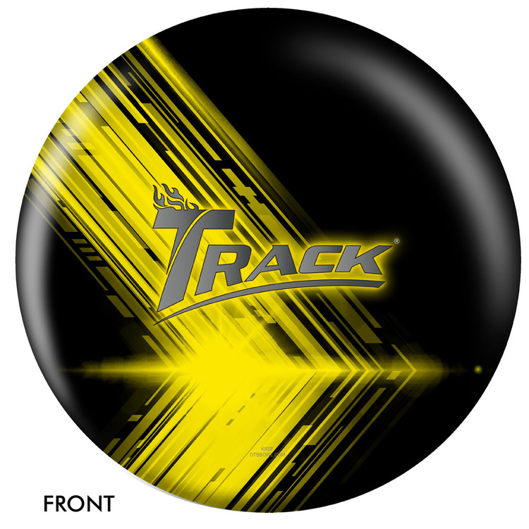 Track Logo Ball Front View