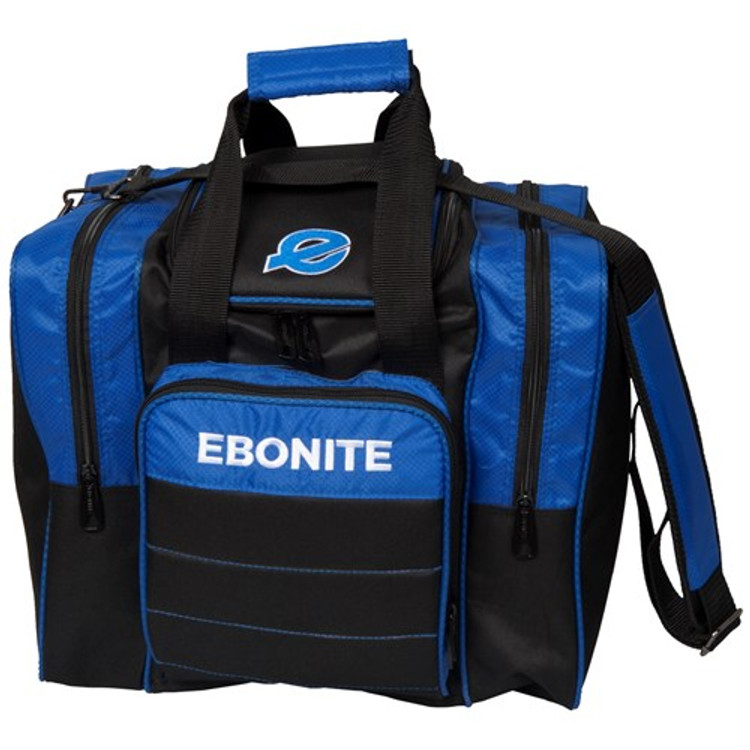 Ebonite Impact Plus Single Tote Bowling Bag Royal
