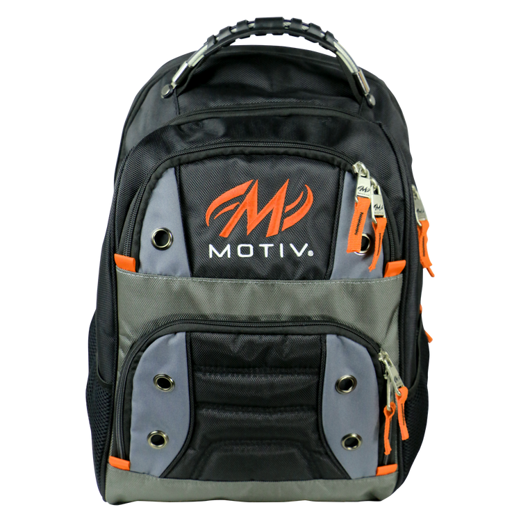 Motiv Intrepid Backpack Black Orange