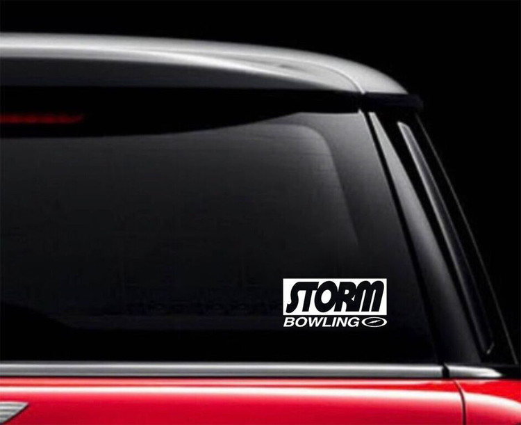 Storm Classic II Car Decal