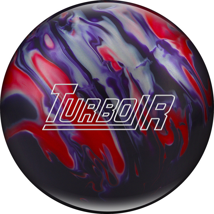 Ebonite Turbo/R Bowling Ball Purple Red Silver