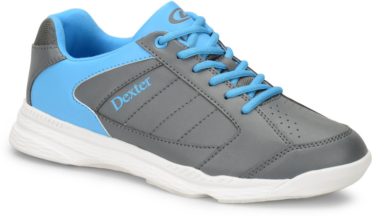Dexter Ricky IV Jr. Bowling Shoes Grey Blue