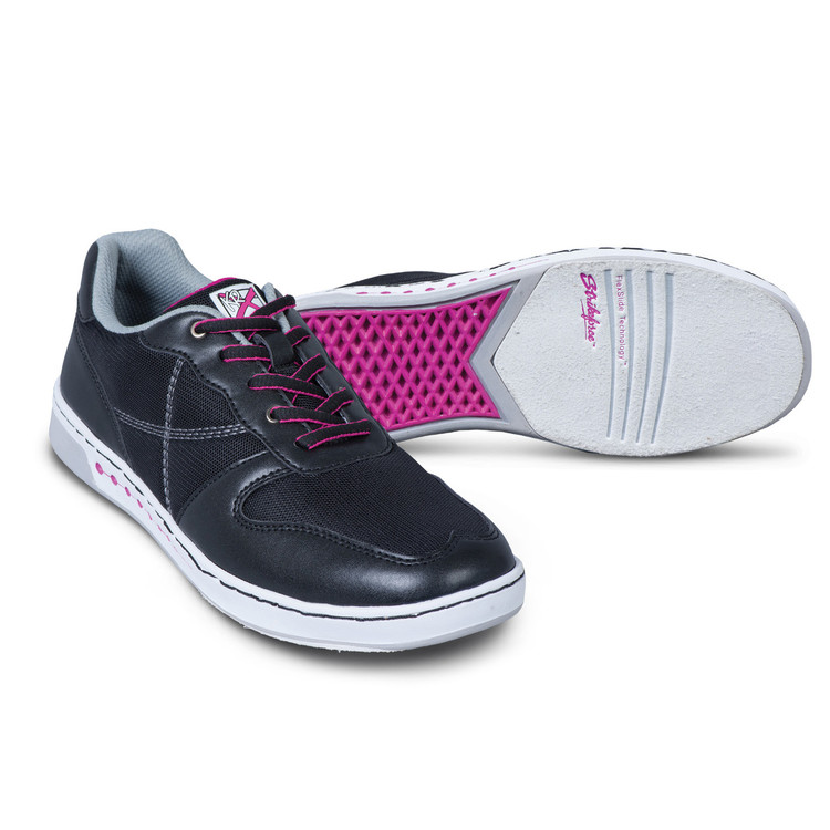 KR Strikeforce Opal Women's Bowling Shoes Black Pink