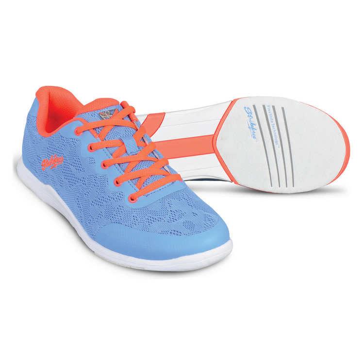 KR Strikeforce Lace Women's Bowling Shoes Sky Coral