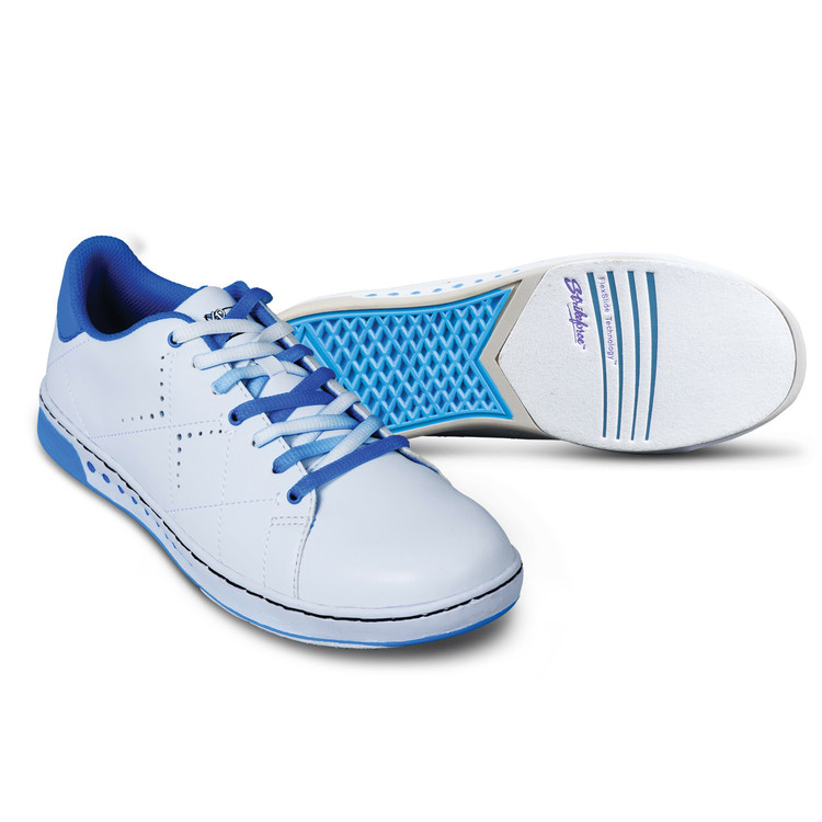 KR Strikeforce Gem Women s Bowling Shoes White Blue cccb722c9