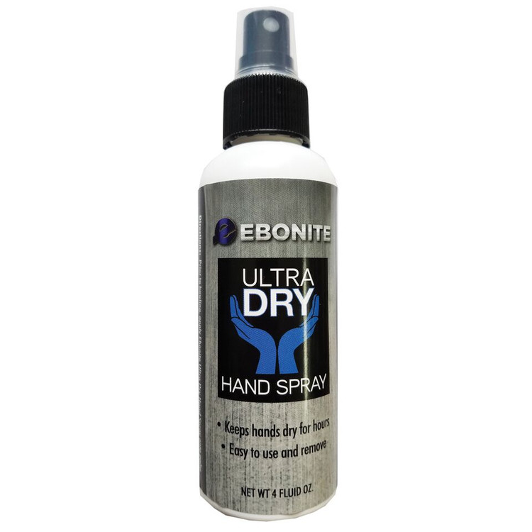 Ebonite Ultra Dry Hand Spray 4 oz