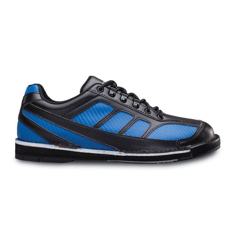 Brunswick Phantom Mens Bowling Shoes Black Royal Right Hand WIDE