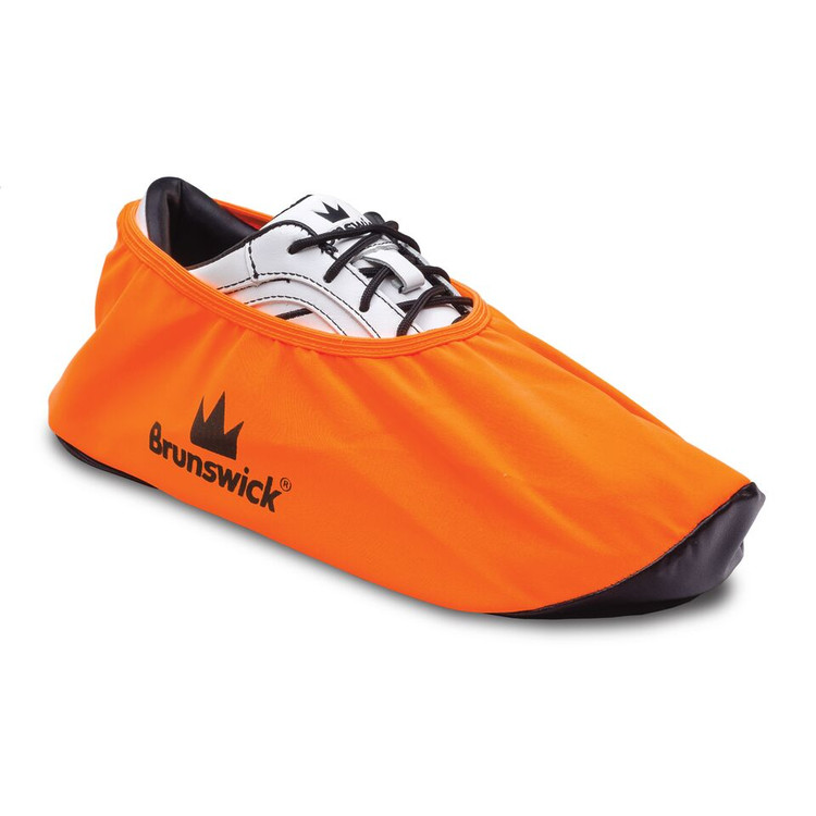 Brunswick Shield Shoe Cover Neon Orange