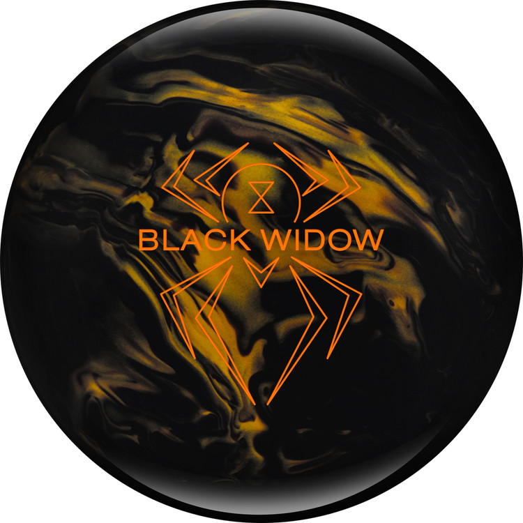 Black Widow Black Gold Front View