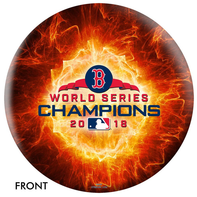 OTB MLB Boston Red Sox 2018 Championship Bowling Ball