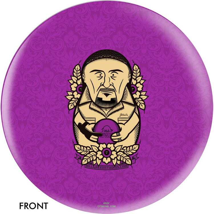 OTB Big Lebowski Purple Jesus Bowling Ball