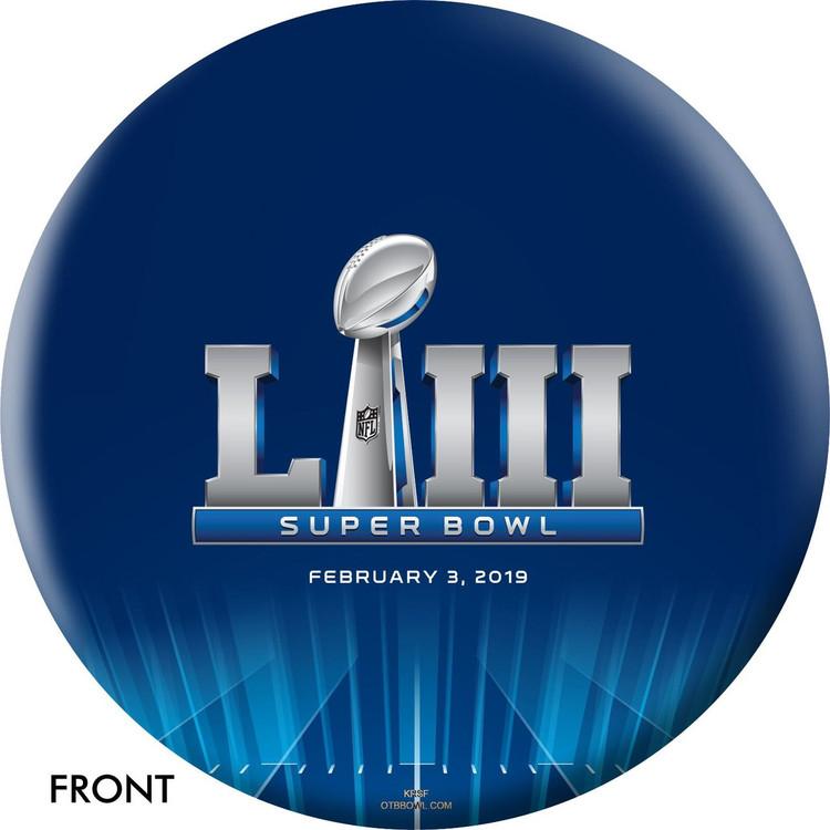 OTB NFL Patriots 2019 Super Bowl Bowling Ball