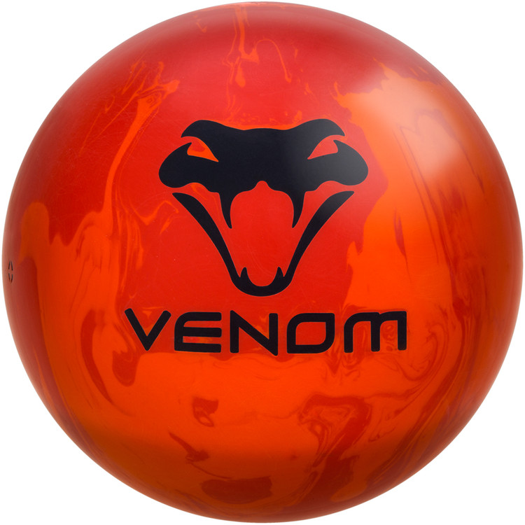 Venom Recoil Bowling Ball Front View