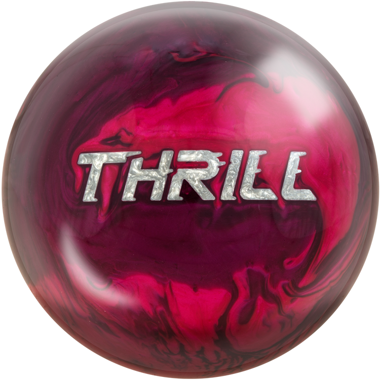 Motiv Thrill Bowling Ball Front View