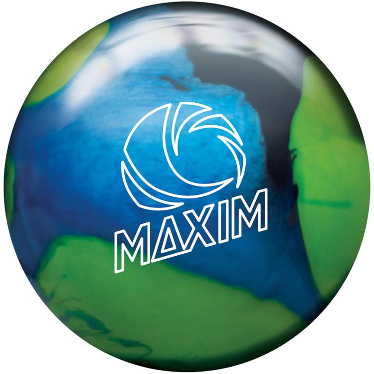 Ebonite Maxim Bowling Ball Northern Lights Front View