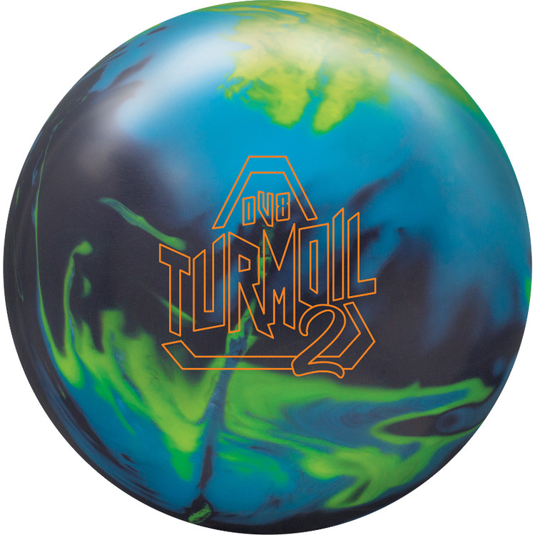 Turmoil 2 Solid Bowling Ball Front View
