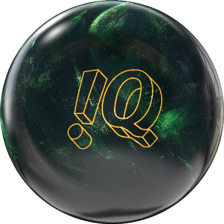 Storm IQ Tour Bowling Ball Emerald Front View