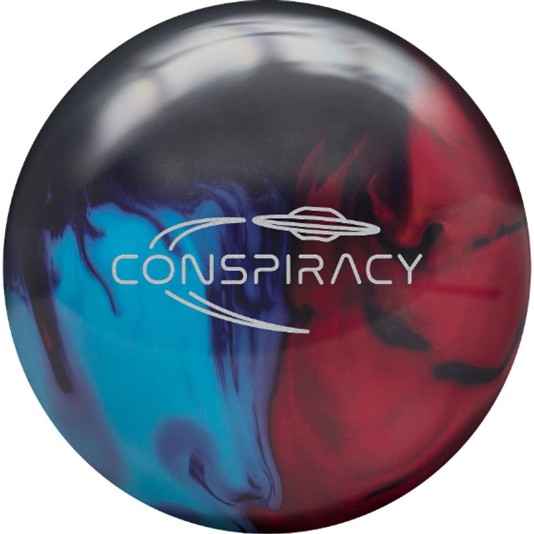 Radical Conspiracy Hybrid Bowling Ball Front View