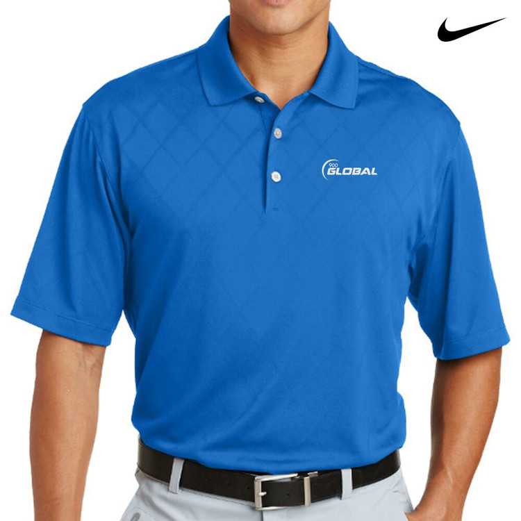 900 Global Nike Dri-Fit Cross-Over Texture Mens Polo