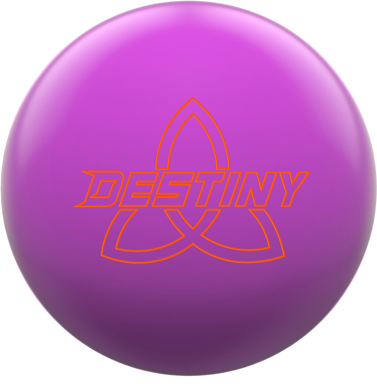 Ebonite Destiny Solid Bowling Ball Magenta