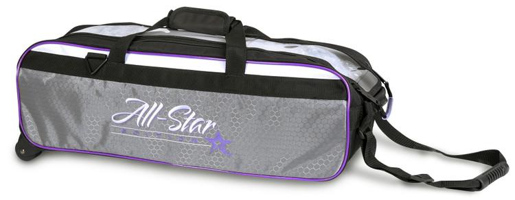 Roto Grip 3 Ball All-Star Edition Travel Tote Purple