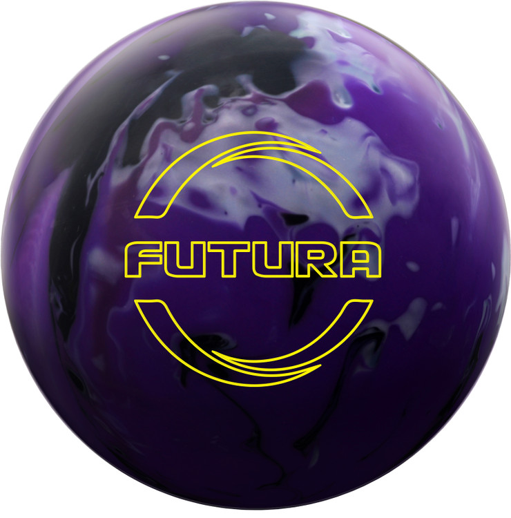 Ebonite Futura Bowling Ball Front View