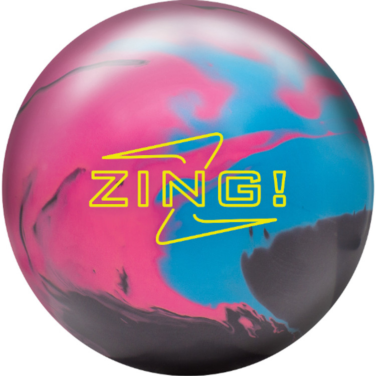 Radical Zing Bowling Ball Front View