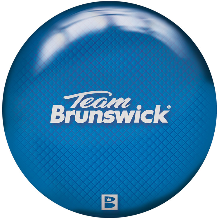 Brunswick Viz a Ball Bowling Ball Team Brunswick Front View