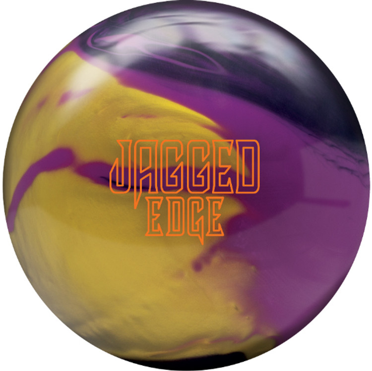 Brunswick Jagged Edge Hybrid Bowling Ball Front View
