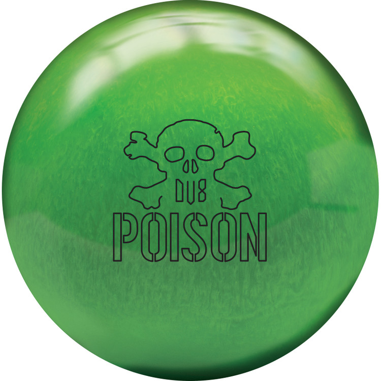 DV8 Poison Pearl Bowling Ball Front View