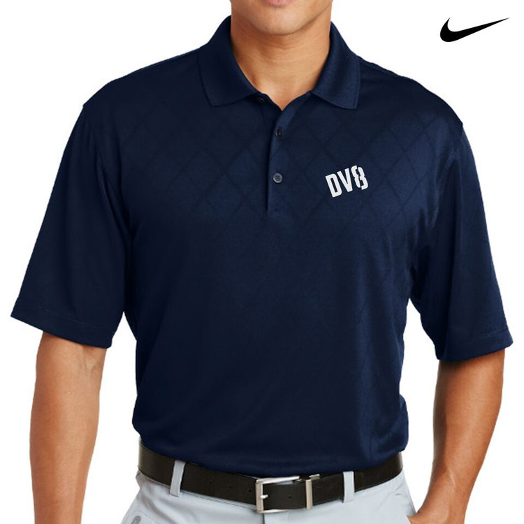 DV8 Nike Dri-Fit Cross-Over Texture Mens Polo
