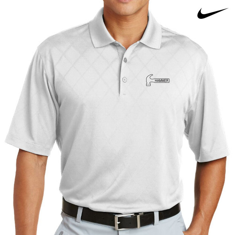 Hammer Nike Dri-Fit Cross-Over Texture Mens Polo