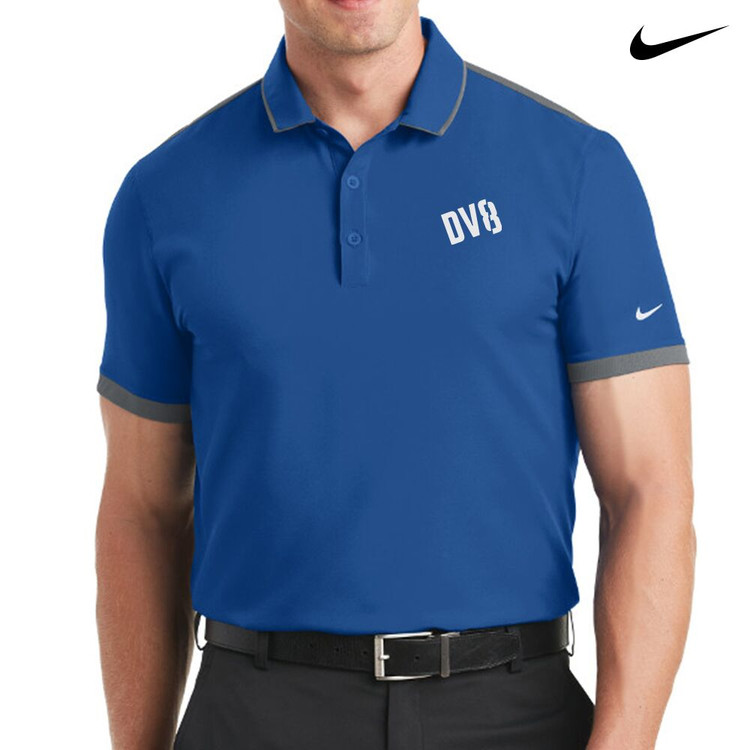 DV8 Nike Dri-Fit Stretch Woven Mens Polo