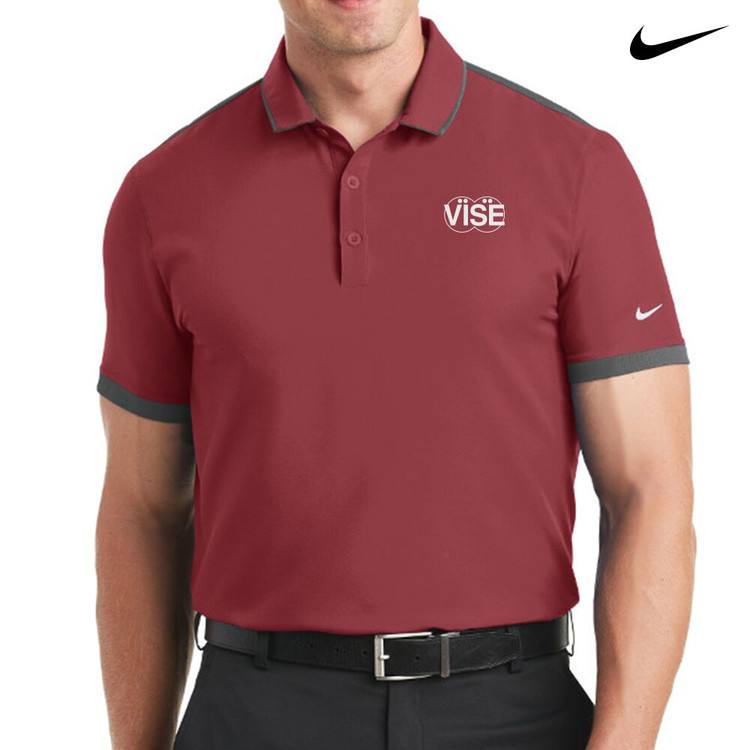 Vise Nike Dri-Fit Stretch Woven Mens Polo