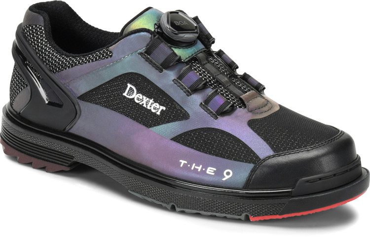 Dexter THE 9 HT BOA Mens Bowling Shoes Color Shift Wide Width