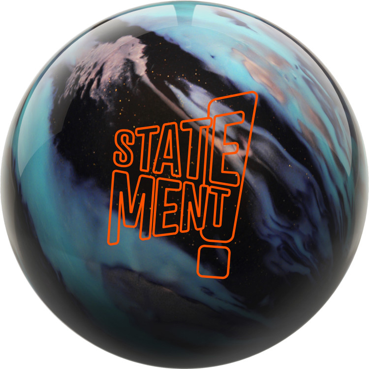 Hammer Statement Hybrid Bowling Ball Front View
