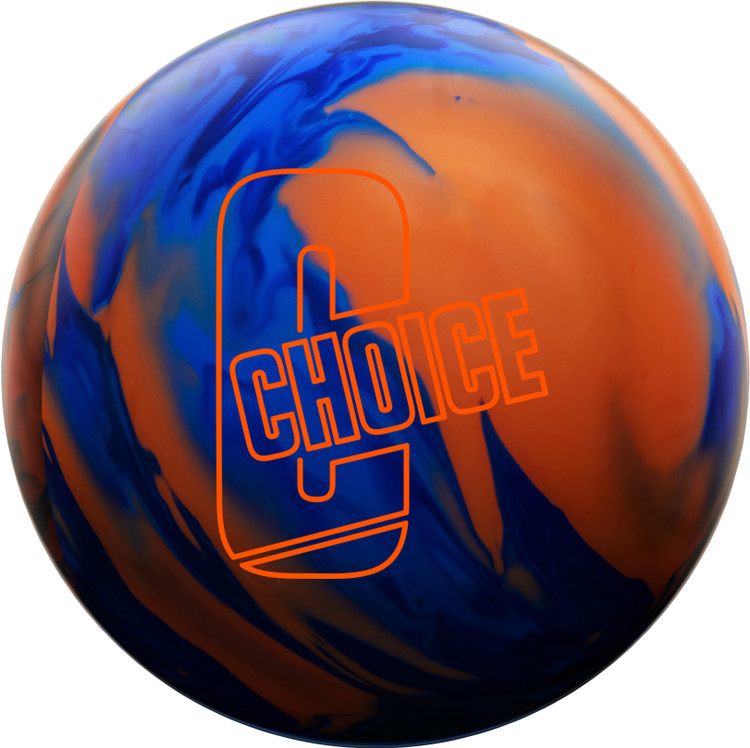 Ebonite Choice Solid Bowling Ball Front View