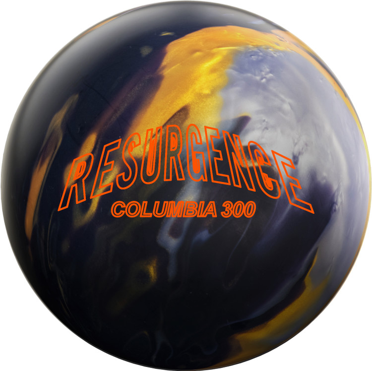 Columbia 300 Resurgence Bowling Ball Front View