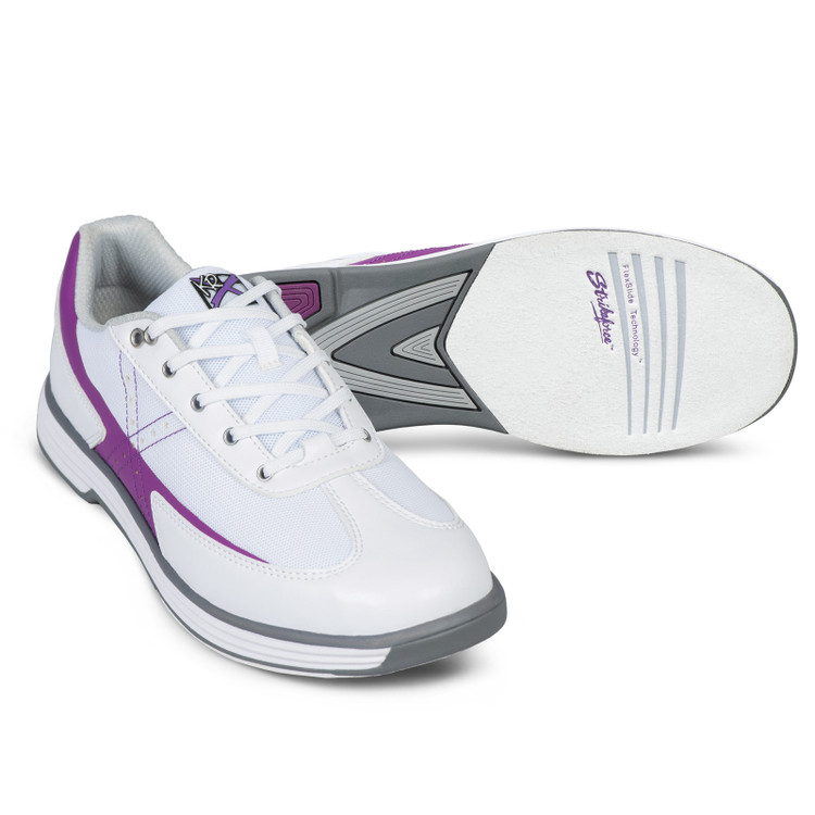 KR Strikeforce Flex Women's Bowling Shoes White Grape