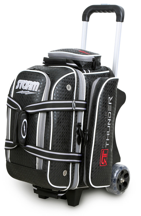 Storm Rolling Thunder 2-Ball Roller Bowling Bag Black Diamond