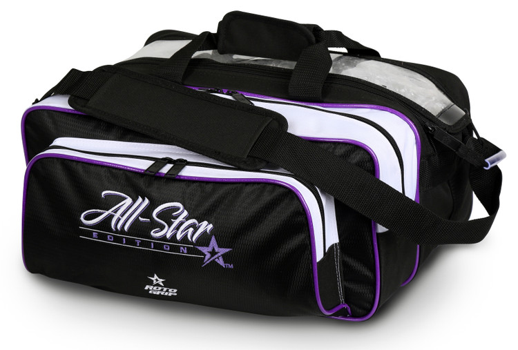 Roto Grip 2-Ball Carryall Bowling Bag All Star Edition Purple