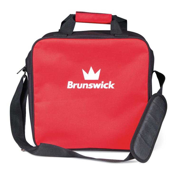 Brunswick TZone 1 Ball Single Tote Bowling Bag Red