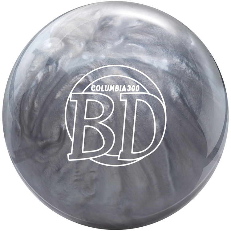 Columbia 300 Bowling Ball Blue Dot Front View
