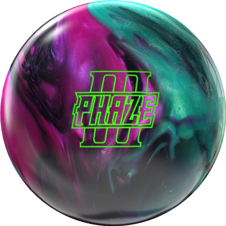 Storm Phaze III Bowling Ball Front View