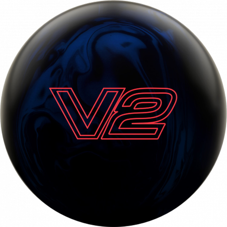 Ebonite Vortex V2 Bowling Ball Front View