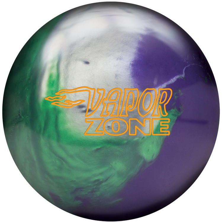 Brunswick Vapor Zone Hybrid Bowling Ball Front View