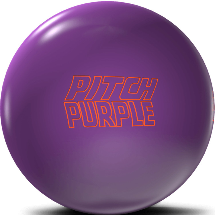 Storm Pitch Purple Bowling Ball Front View